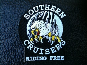 SCRC RIPPING EAGLE PATCH